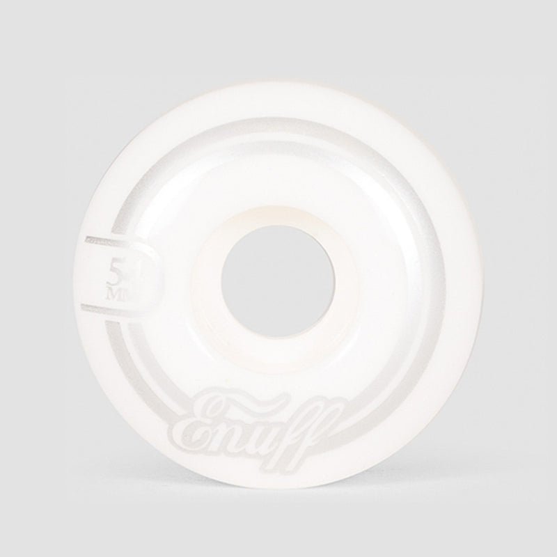 Enuff Refresher II Wheels White 54mm - Skateboard