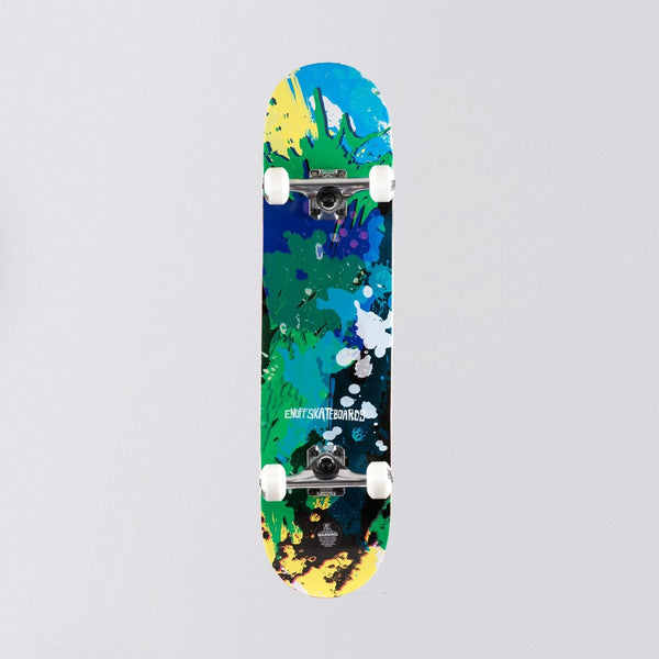 Enuff Splat Pre-Built Complete Green/Blue - 7.75 - Skateboard