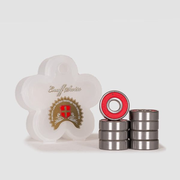 Enuff Swiss Bearings Red - Skateboard