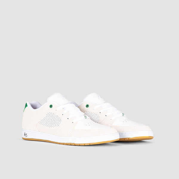 eS Accel Slim White/Green