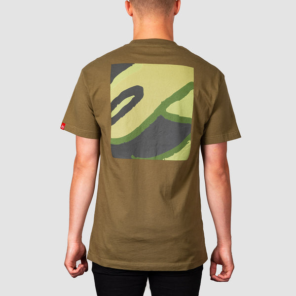 eS Color Field Tee Olive