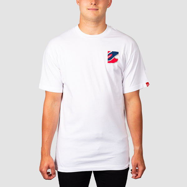 eS Color Field Tee White