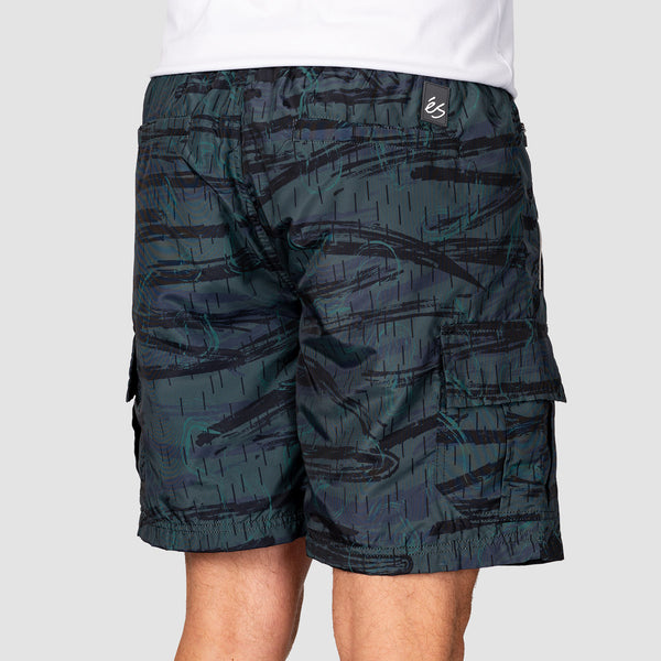 eS Court Cargo Walkshorts Olive/Black
