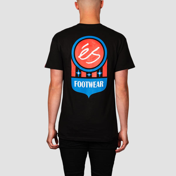 eS Court Logo Tee Black