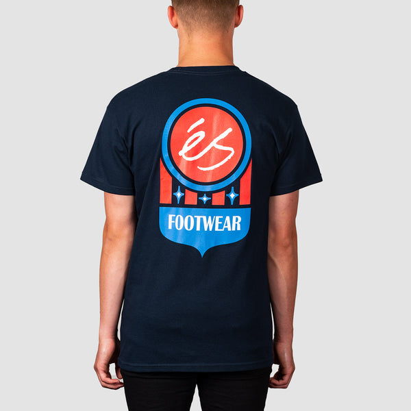 eS Court Logo Tee Navy