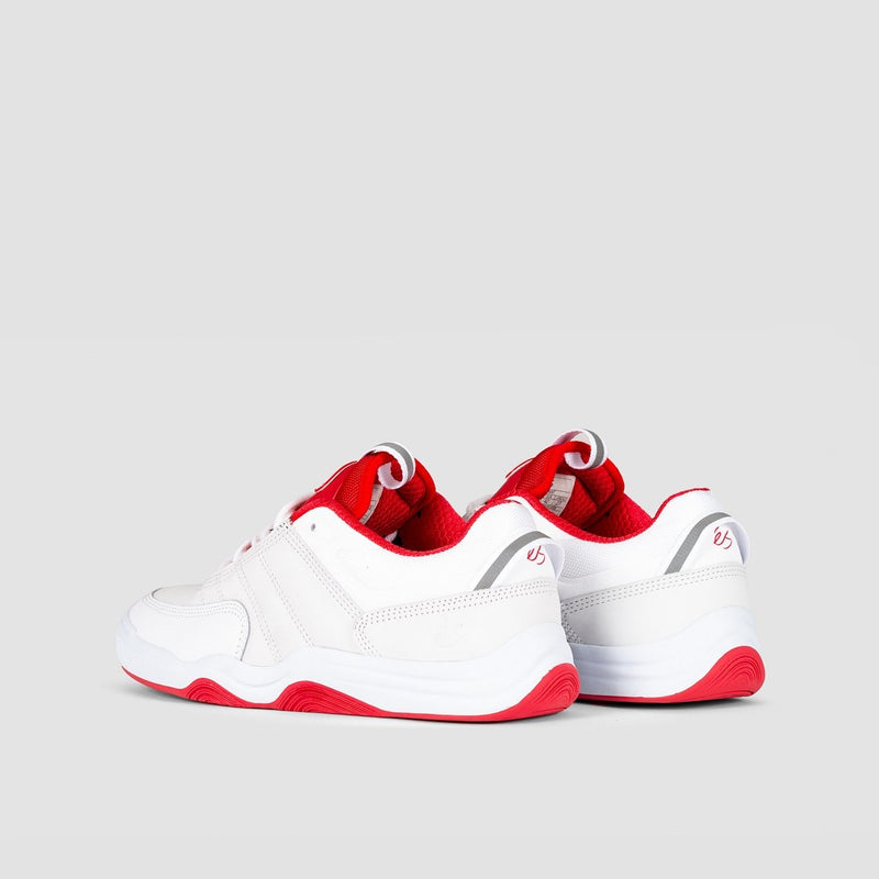 eS Evant White/Red - Footwear