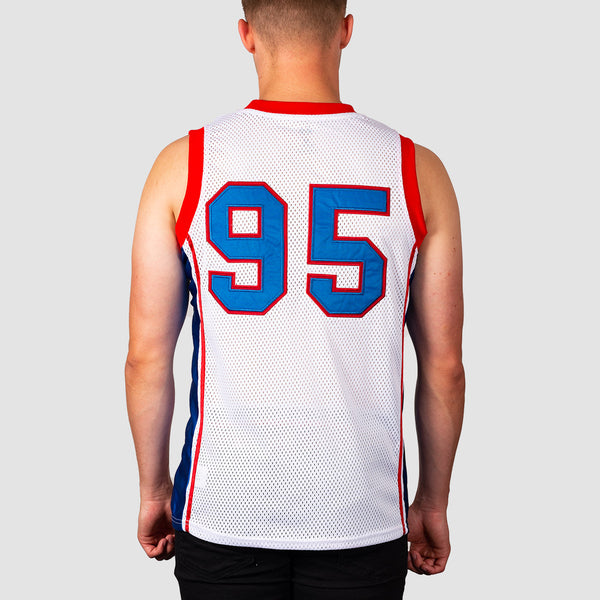 eS La Courtside Jersey Vest White