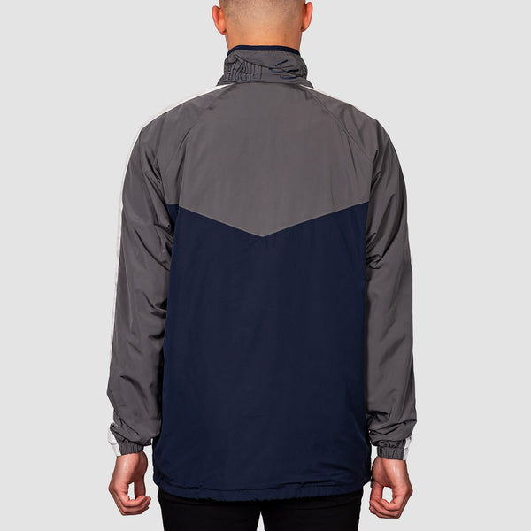 eS Laps Mock Neck Jacket Navy/Grey