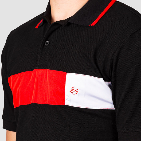 eS Mitga Polo Shirt Black