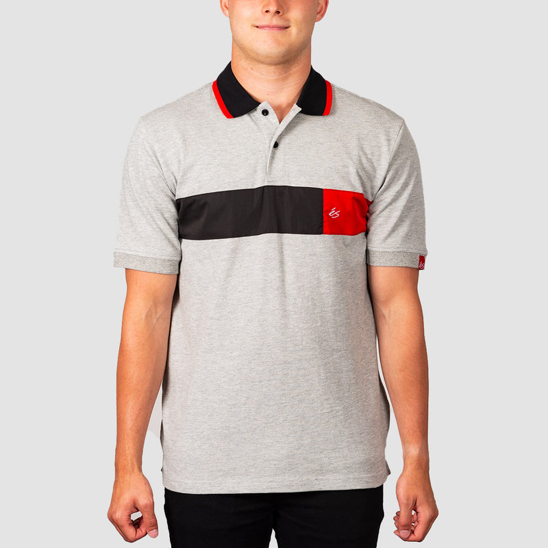 eS Mitga Polo Shirt Grey/Heather