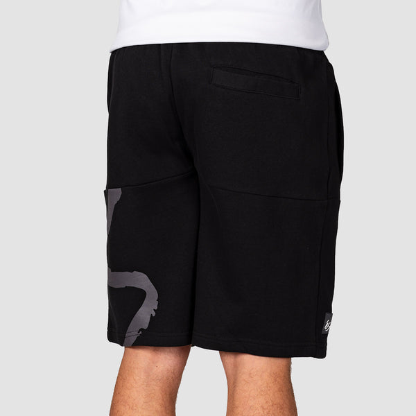 eS Split Fleece Shorts Black