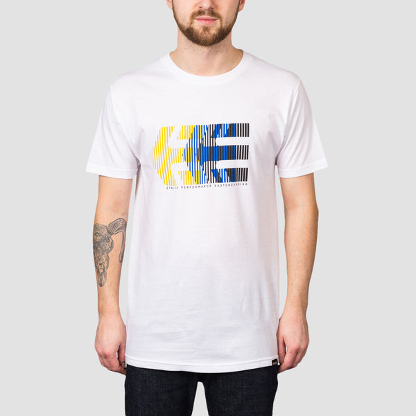 Etnies After Burn Tee White/Yellow