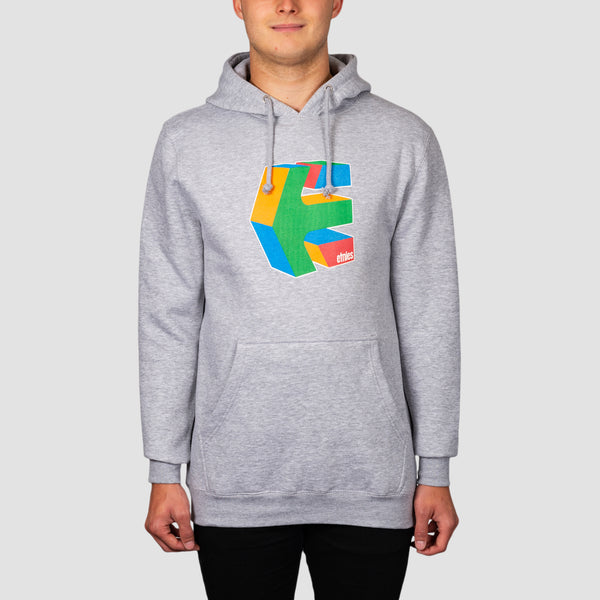Etnies Cube Pullover Hood Grey/Heather