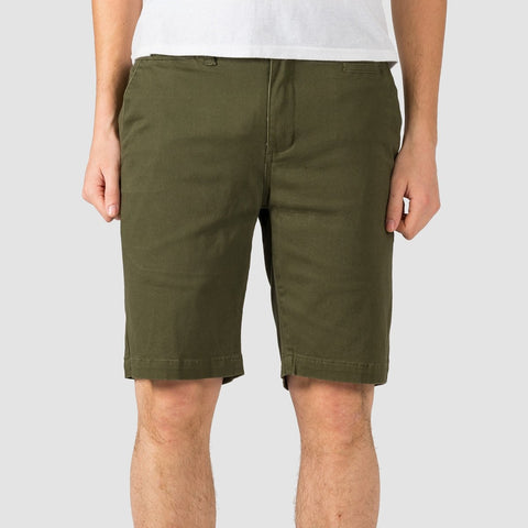 Etnies Essential Straight Chino Shorts Military