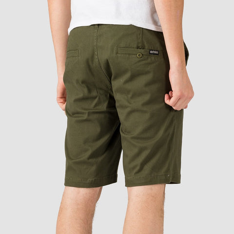 Etnies Essential Straight Chino Shorts Military - Clothing