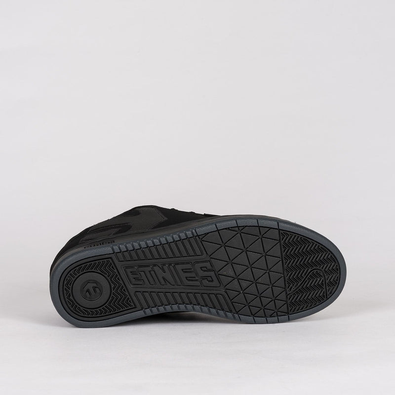 Etnies Fader Black Dirty Wash - Footwear