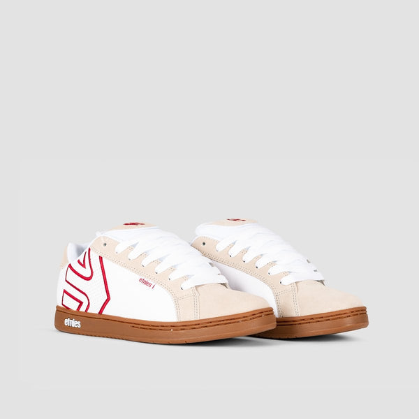 Etnies Fader White/Tan - Footwear