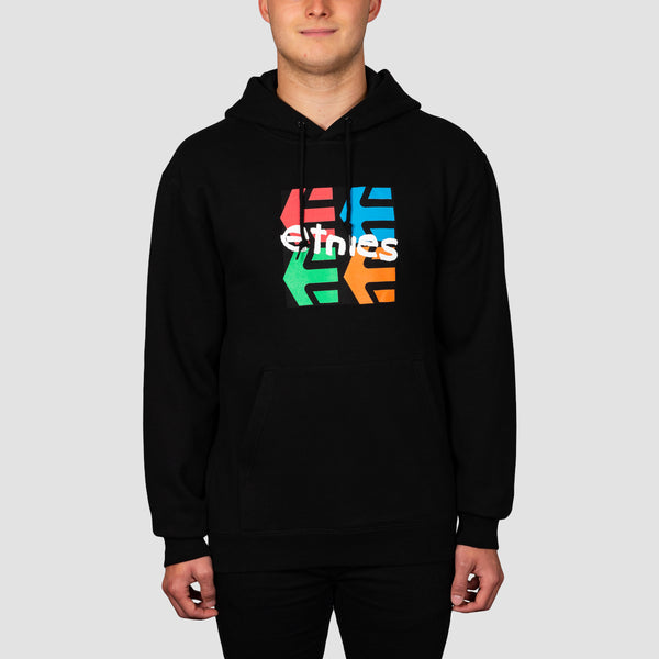 Etnies Four Square Pullover Hood Black