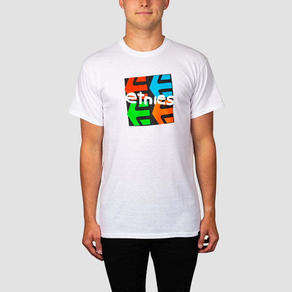 Etnies Four Square Tee White