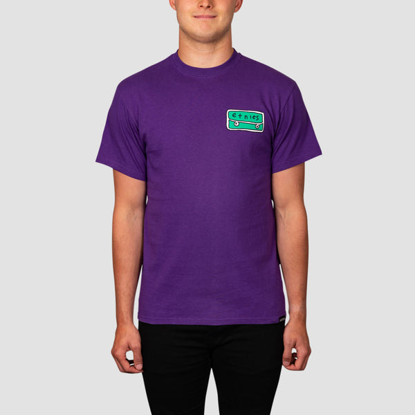 Etnies Frontside Tee Purple