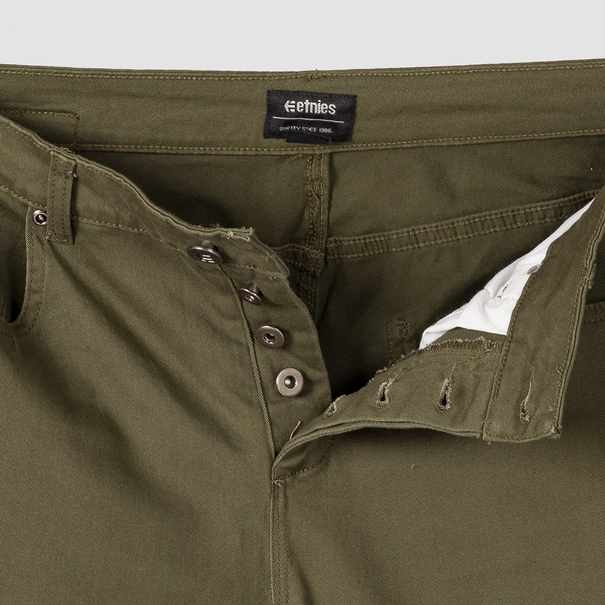 Etnies James 5P Slim Pants Military - Clothing