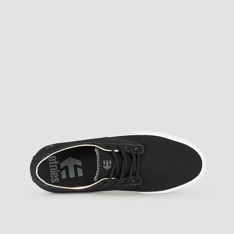 Etnies Jameson Vulc LS Black/White/Grey - Footwear