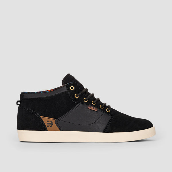 Etnies Jefferson Mid Black Raw