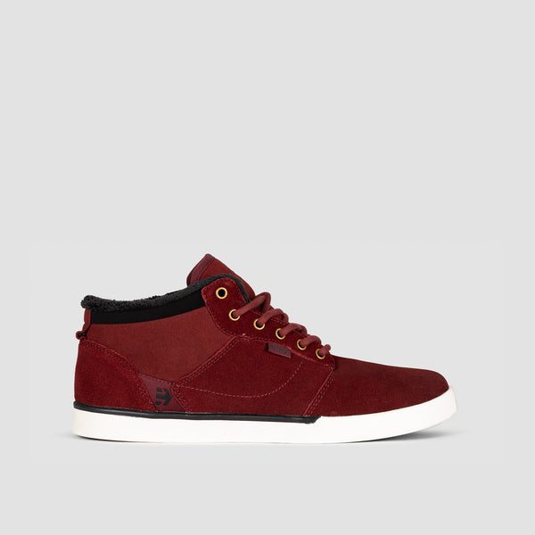 Etnies Jefferson Mid Burgundy/Gold