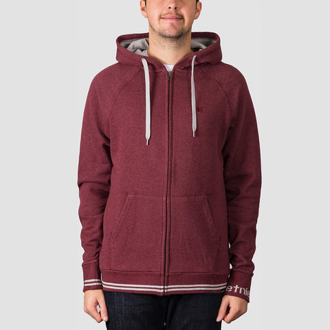 Etnies Johnson Zip Hood Burgundy