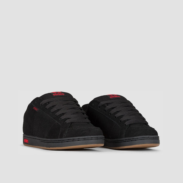 Etnies Kingpin Black/Black/Red - Footwear
