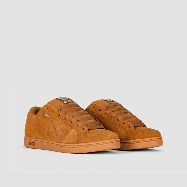 Etnies Kingpin Brown/Gum/Gold - Footwear