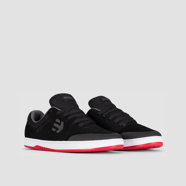 Etnies Marana Black/White/Red - Footwear