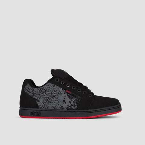 Etnies Metal Mulisha Barge XL Black/Black/Red