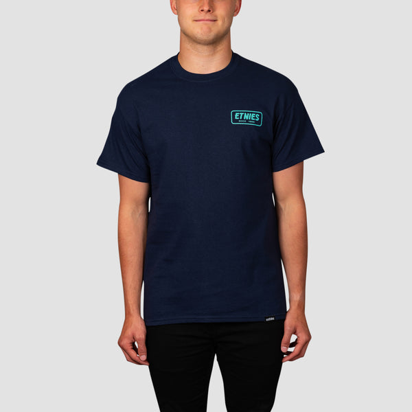 Etnies Quality Control Tee Navy/Blue