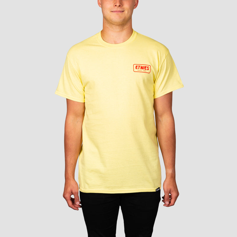 Etnies Quality Control Tee Yellow