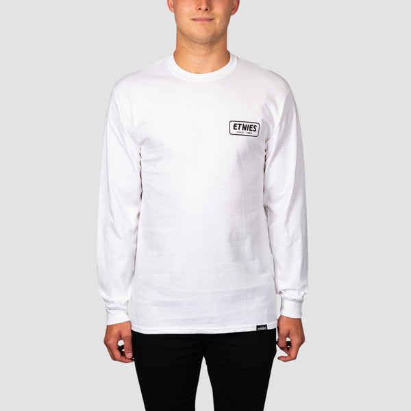 Etnies Quality Products Longsleeve Tee White