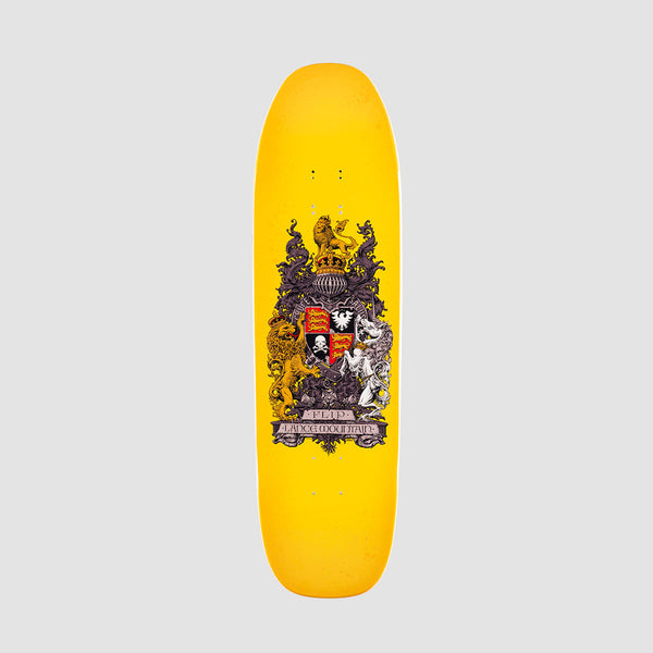 Flip Mountain Crest Deck Yellow - 8.75""