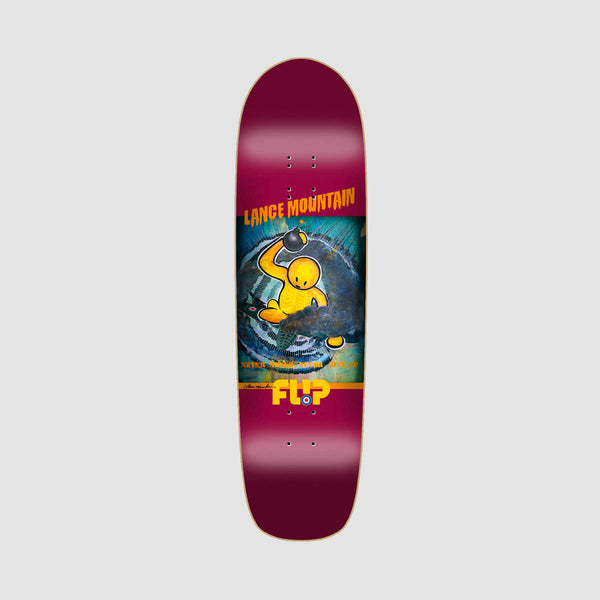 Flip Mountain Doughboy Deck Burgundy - 8.75""