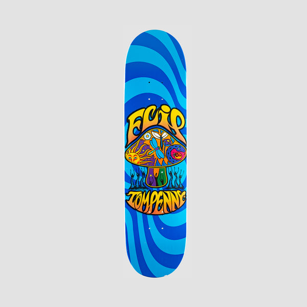 Flip Penny Loveshroom Stained Deck Blue - 8""