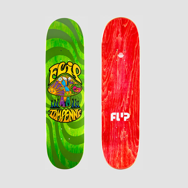Flip Penny Loveshroom Stained Deck Green - 8.25""