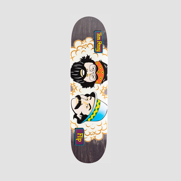 Flip Penny Toms Friends Stained Deck Black - 8.13""