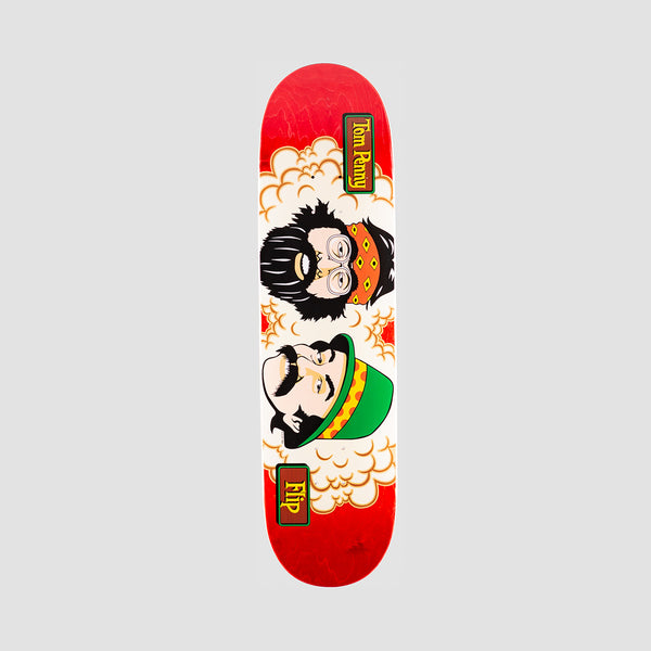 Flip Penny Toms Friends Stained Deck Red - 8.25""
