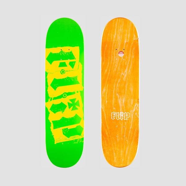 Flip Team Destroyer Deck Green - 8.45""