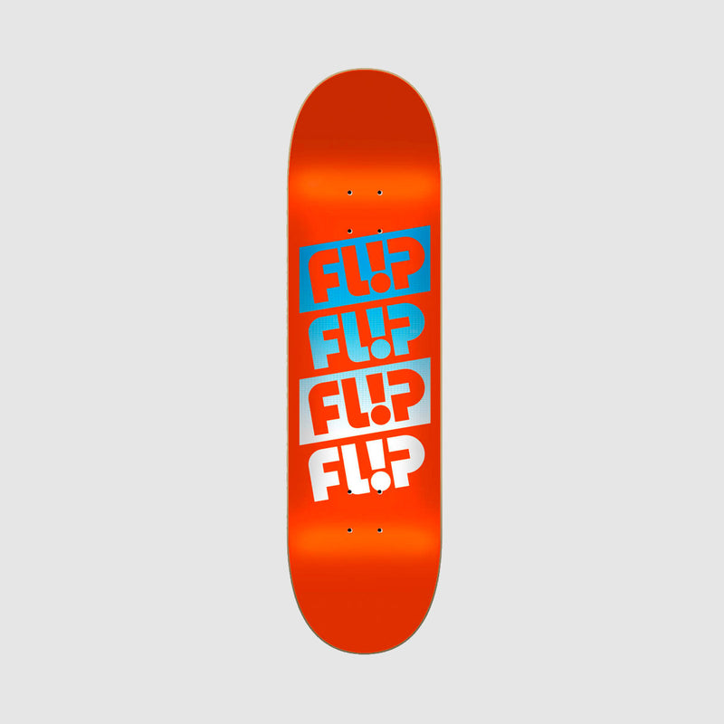 Flip Team Quattro Faded Deck Orange - 8.45""