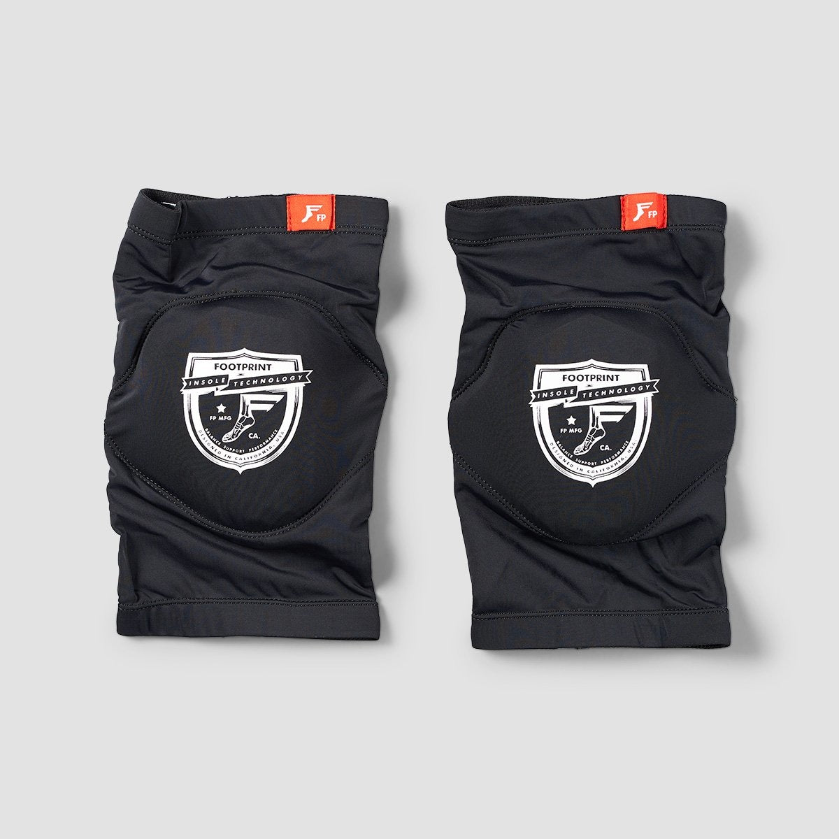 FootPrint Shield Knee Sleeves Black - Safety Gear
