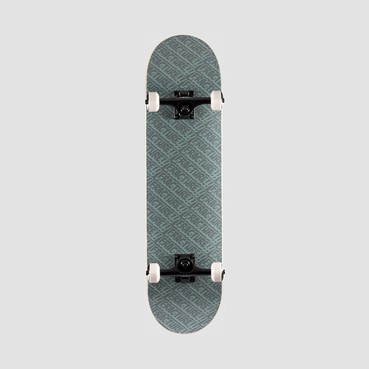 Fracture All Over Comic Pre-Built Complete Grey - 8.25 - Skateboard