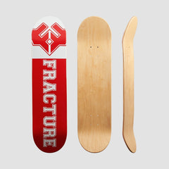 Fracture Uni Deck Red - 8 - Skateboard