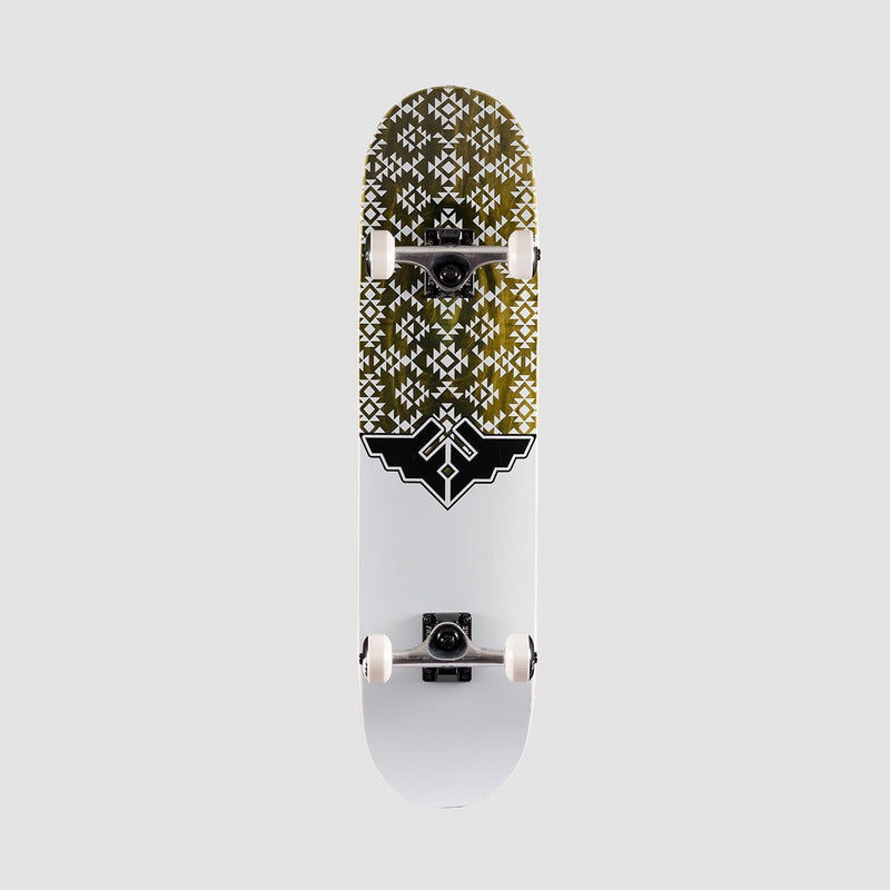 Fracture Wings V3 Pre-Built Complete Green - 7.75 - Skateboard