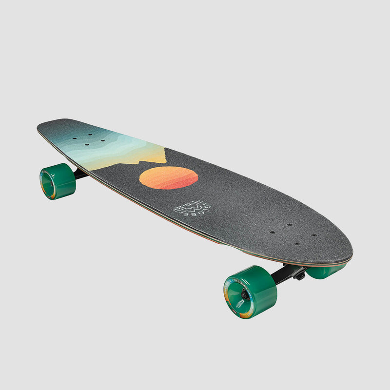 Globe Arcadia Longboard Black Maple/Chromeset - 36""