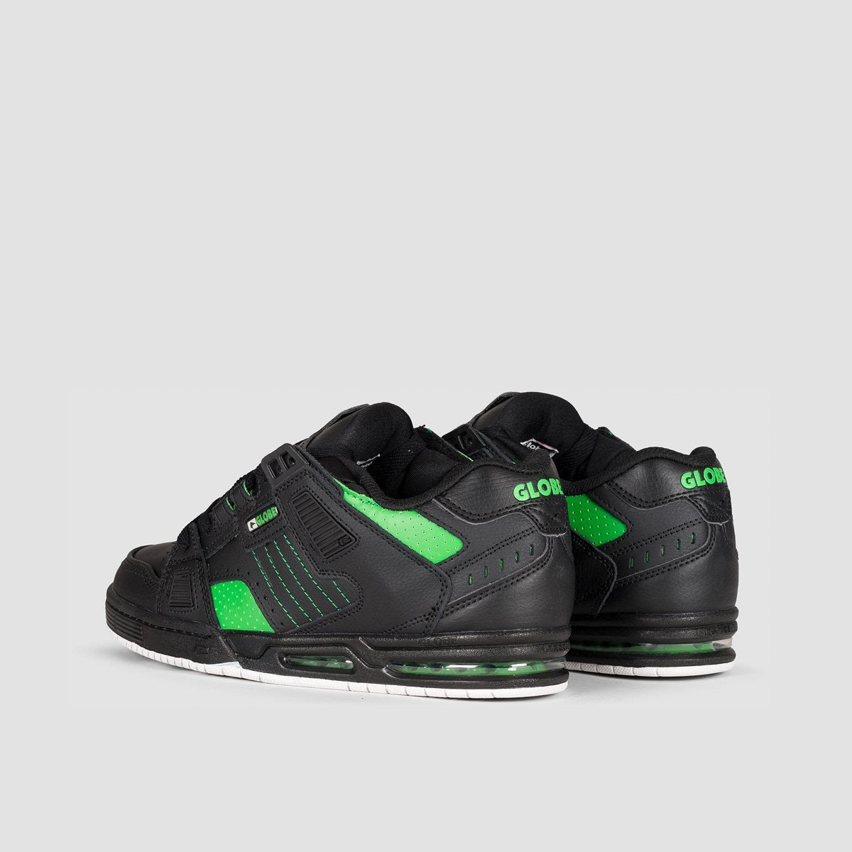 Globe Sabre Black/Moto Green - Footwear